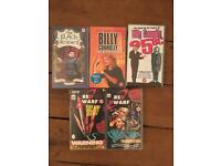 Selection of British Comedy VHS Video Tapes - Red Dwarf, Blackadder, Billy Connolly