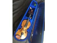 Stentor student I 1/2 size violin excellent condition
