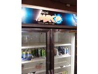 pepsi max double fridge SHOP CLEARANCE