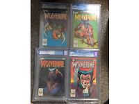 Wolverine mini series high grade cgc