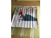 Christmas Banner with eyelets Waterproof - Approx 1 metre x 1 metre