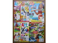Kids Arts and Crafts - 4 crafting magazines for a pound