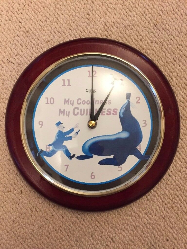 GUINNESS GILROY CLASSIC 2000 COLLECTION CLOCK