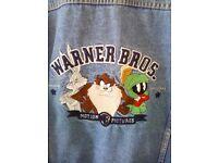 Mens Vintage Warner Bros Jacket XL