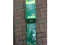 Brand new in box. Never been opened. 620w hedge trimmer. Gardenline. Cost £29.99. Accept £15.