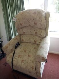 HSL Electric Reclining Armchair. 2 years old. Perfect condition. Cost over £1k new.