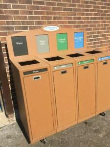 CleanRiver Recycling bins
