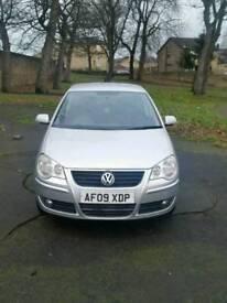 09 Volkswagen Polo 1.2 5 Door Silver. Petrol. Genuine 64000 mileage. Hpi clear.