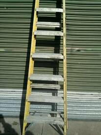 Ladders, fibreglass used condition