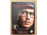 JOHNNY DEPP SECRET WINDOW DVD