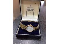 charles rennie mackintosh 9crt gold mens watch