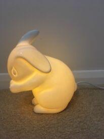 Rabbit lamp child nursery room