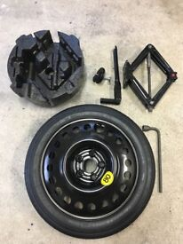 Vauxhall Mokka space saver wheel kit