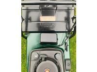 Hayter Harrier 48 self propelled alloy deck roller lawnmower serviced sharpened key/pull start Mower