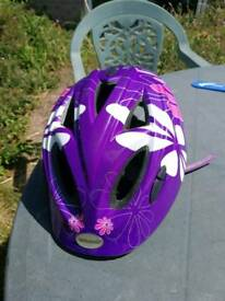Girls bicycle helmet size medium