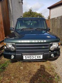 Land Rover Discovery 2 td5 landrover disco