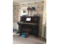 Piano and stool for sale ideal for beginner