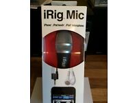iRig Mic Handheld Microphone iPod, iPhone, Android - IK Multimedia