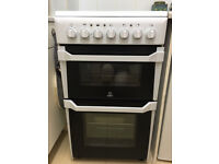Indesit cooker with double oven