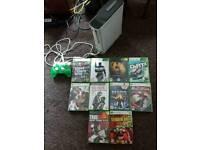 Xbox 360 1 pad 10 games