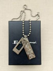 Ben Sherman Double Dog Tag Pendant