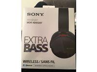 Sony Wireless extra bass headphones (in sealed box)