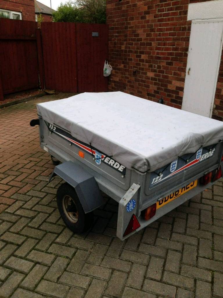 4ft by 3ft Trailer