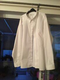 Men's large white shirts