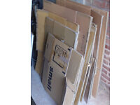 18 STRONG CARDBOARD BOXES FOR REMOVALS & STORAGE. MIXED SIZES