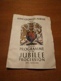 Jubilee programme