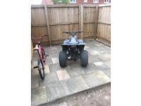 100cc 2stroke quad