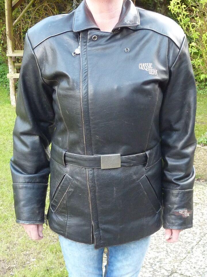 """Damen Motorrad Leder Jacke XS """"Classic Gear"""" Hein Gericke in Brunsbuettel"""
