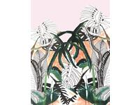 A3 or A4 botanical illustration perfect to hang in bedrooms, kitchens and living rooms.