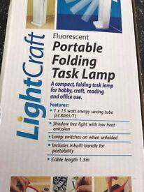 Portable Folding Task Lamp