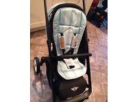 Mini easy walker pram/pushchair/stroller.