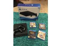 PlayStation 4 500GB slim as new!!!