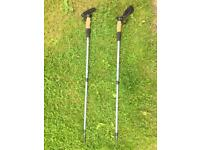 Hi Gear Strider Walking Pole Trekking Pole Hiking Equipment Anti Shock Cork Grip