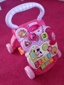 Vtech First Steps baby walker and activity centre