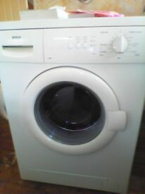 boschh 6kg 1400 spin automatic washing machine excellent working order
