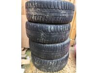 4x Mondeo steel wheels with tyres