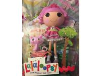 Lalaloopsy 33cm Core Doll with Pet - Jewel Sparkles - BRAND NEW - Sealed - Ideal for Christmas