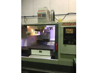 Bridgeport Vmc Vertical CNC Milling Machine With 4th Axis