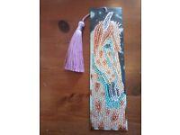 Sparkling horse bookmark