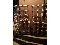 4 Pine Wine Racks