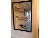 Pub Mirror - Cantrell & Cochrane's Mineral Waters