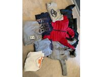 Boys clothes age 7-8 designer included