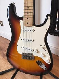 2004 Fender Stratocaster Guitar – Sunburst - Pro Set-up!