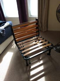 Ikea single folding futon bed frame