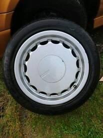 Retro Speedline alloy wheels 1990 jaguar XJR 5x100