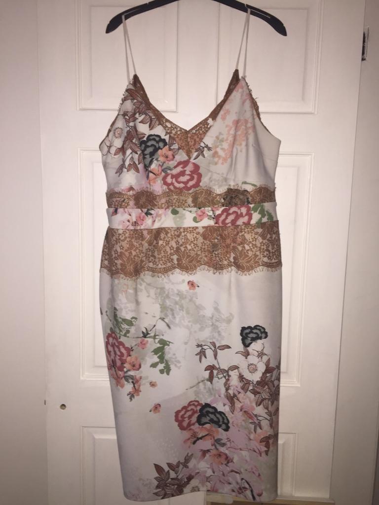 Floral Body Con Dress